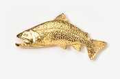 #115AG - Labrador Brookie 24K Gold Plated Pin