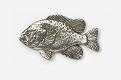 #111 - Sunfish Antiqued Pewter Pin