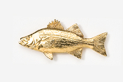 #165G - Hybrid Striper 24K Gold Plated Pin