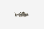 #M202 - Bluefin Tuna Pewter Mini-Pin