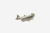 #M209 - Right Facing Tarpon Pewter Mini-Pin