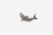#M213 - Mako Shark Pewter Mini-Pin