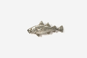 #M221 - Cod Pewter Mini-Pin