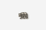 #M405 - Black Bear Pewter Mini-Pin