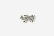 #M446 - Pig Pewter Mini-Pin