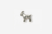 #M448 - Goat Pewter Mini-Pin