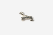 #M462 - Smooth Dachshund Pewter Mini-Pin