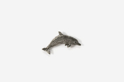 #M475 - Dolphin / Porpoise Pewter Mini-Pin