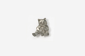 #M496 - Panda Pewter Mini-Pin