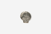 #M541 - Scallop Pewter Mini-Pin