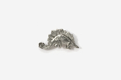 #M621 - Stegosaurus Pewter Mini-Pin