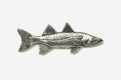 #206 - Snook Antiqued Pewter Pin