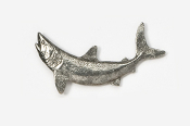 #213 - Mako Shark Antiqued Pewter Pin