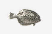#222 - Winter Flounder Antiqued Pewter Pin