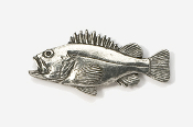 #240 - Rockfish Antiqued Pewter Pin