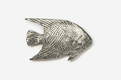 #270 - Angelfish Antiqued Pewter Pin