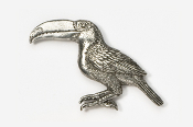 #356 - Toucan Antiqued Pewter Pin
