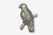 #357 - Amazon Parrot Antiqued Pewter Pin