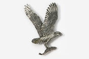 #366 - Osprey Antiqued Pewter Pin