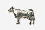 #445 - Cow Antiqued Pewter Pin