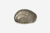 #542 - Abalone Antiqued Pewter Pin