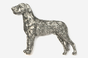 #870C - Irish Wolfhound Antiqued Pewter Pin