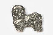 #882 - Havanese Antiqued Pewter Pin