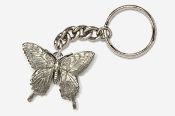 #K570 - Tiger Swallowtail Antiqued Pewter Keychain