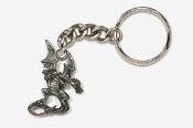 #K650 - Dragon Antiqued Pewter Keychain