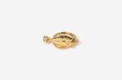 #TT222G - Winter Flounder 24K Plated Tie Tac