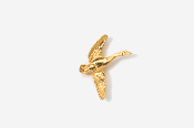 #TT320G - Flying Canada Goose 24K Plated Tie Tac