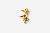 #TT400G - Buck Head 24K Plated Tie Tac