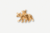 #TT405DG - Black Bear Cubs 24K Plated Tie Tac