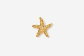 #TT539G - Starfish 24K Plated Tie Tac