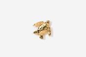 #TT607G - Sea Turtle 24K Plated Tie Tac
