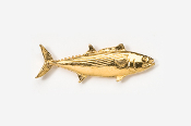#210G - Bonito 24K Gold Plated Pin