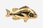 #238G - Porgy 24K Gold Plated Pin