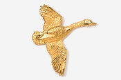 #320G - Flying Canada Goose 24K Gold Plated Pin