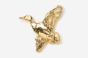 #321G - Flying Mallard 24K Gold Plated Pin