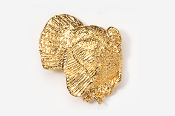 #326AG - Right Facing Strutting Turkey 24K Gold Plated Pin