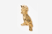 #355G - Cockatoo 24K Gold Plated Pin