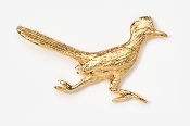 #359G - Roadrunner 24K Gold Plated Pin