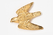 #365G - Peregrine 24K Gold Plated Pin