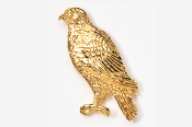#367G - Hawk 24K Gold Plated Pin