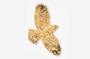 #368G - Flying Hawk 24K Gold Plated Pin
