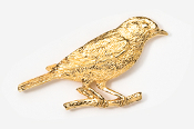 #375G - Bluebird 24K Gold Plated Pin