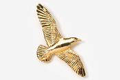 #385G - Seagull 24K Gold Plated Pin