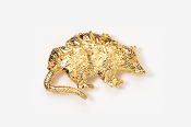 #416AG - Opossum 24K Gold Plated Pin