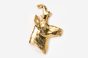 #432G - Pronghorn 24K Gold Plated Pin