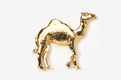 #449G - Camel 24K Gold Plated Pin